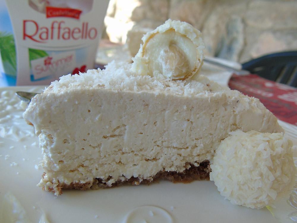 Creamy Cold Raffaello Cake