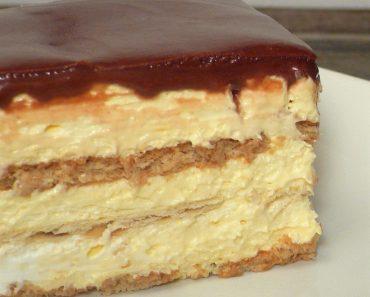 No-Bake Eclair Cake