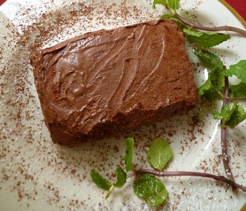 Irish Cream Chocolate Sheet Cake