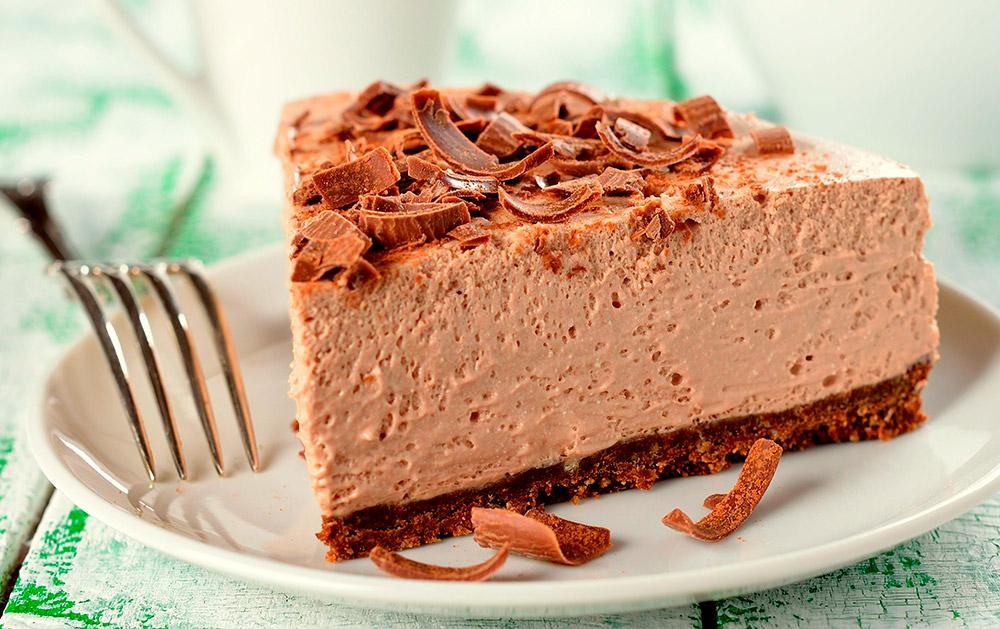 Creamy Cold Nougat Cake