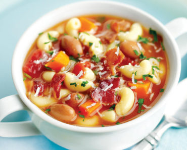 Pasta & Bean Soup – Italian Recipe