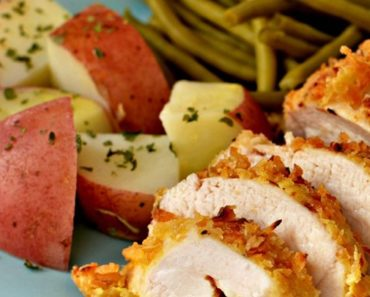 Tasty Saffron Roast Chicken with Crispy Onions